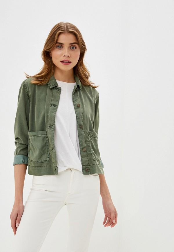 женская куртка gap, хаки