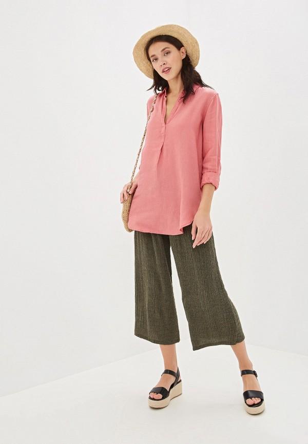 Фото 2 - женскую блузку Gap розового цвета