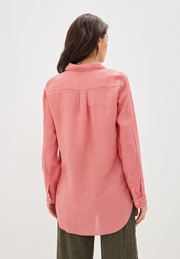 Фото 3 - женскую блузку Gap розового цвета
