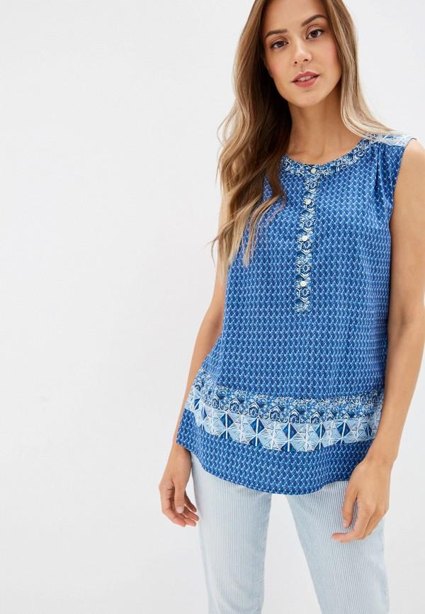 женская блузка gap, синяя