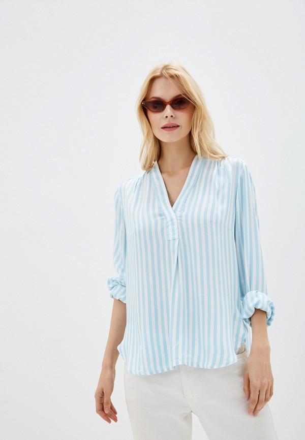 женская блузка gap, голубая