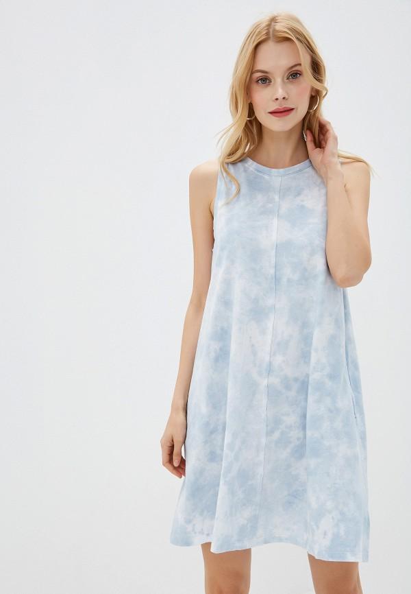 женское платье gap, голубое