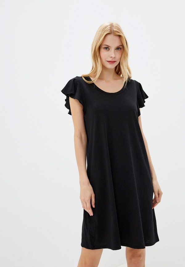 женское платье gap, черное