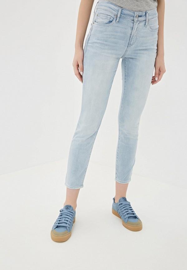женские джинсы gap, голубые