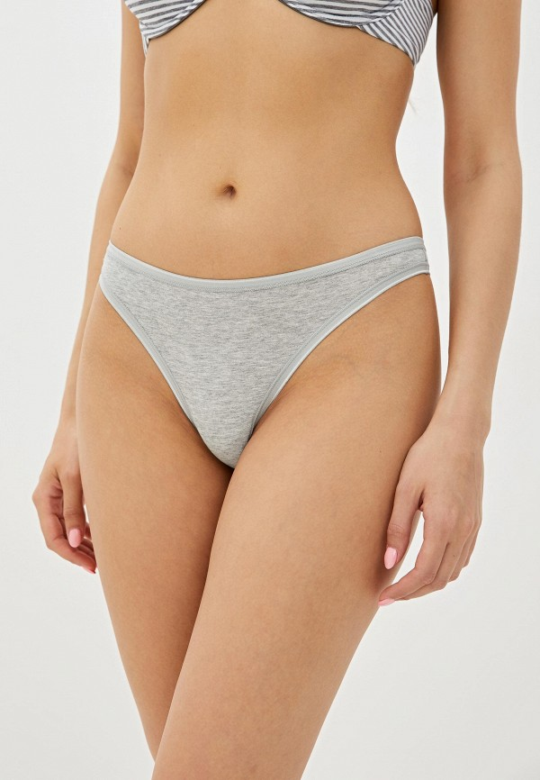 женские трусы-стринги gap, серые