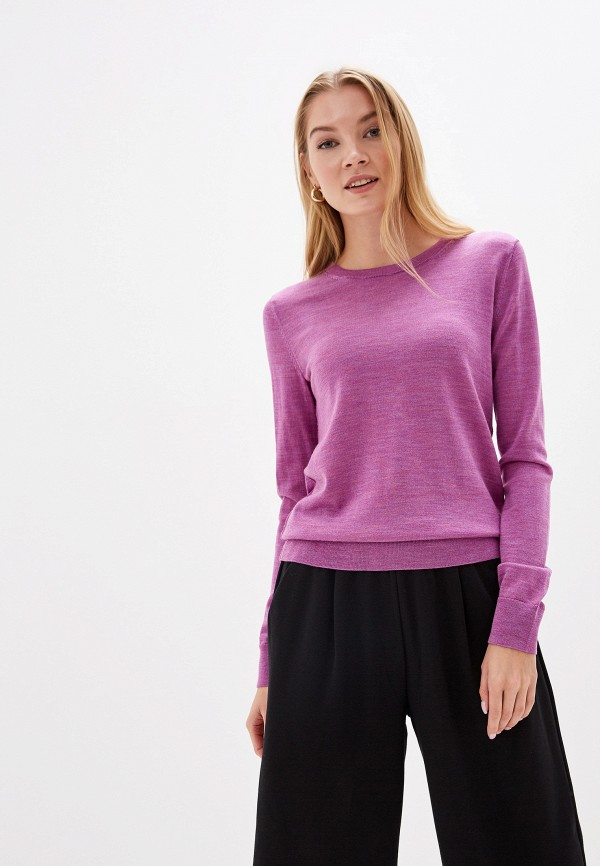 женский джемпер gap, фиолетовый