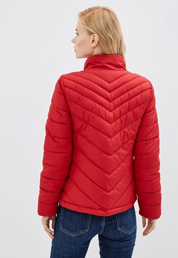 Фото 3 - Куртку утепленная Gap красного цвета