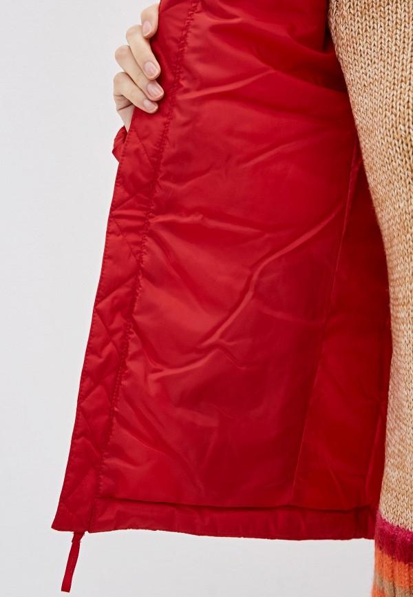 Фото 4 - Куртку утепленная Gap красного цвета