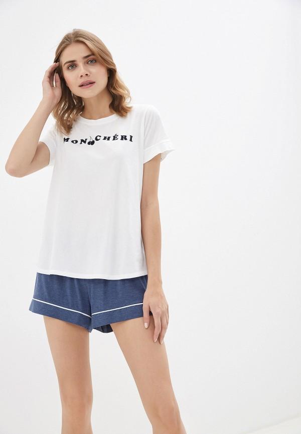 женская футболка gap, белая