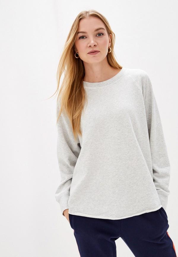 женский свитшот gap, серый