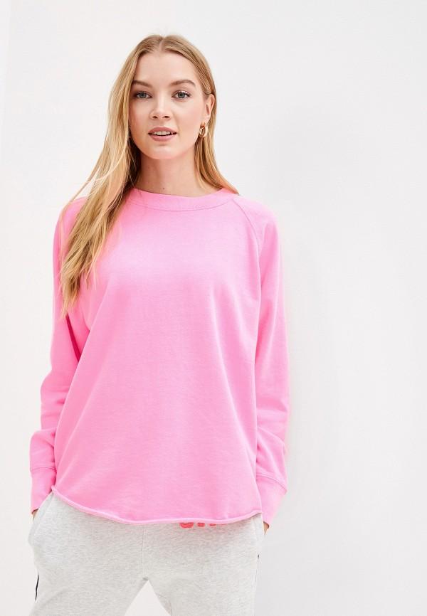 женский свитшот gap, розовый