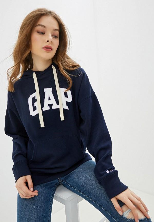 женские худи gap, синие