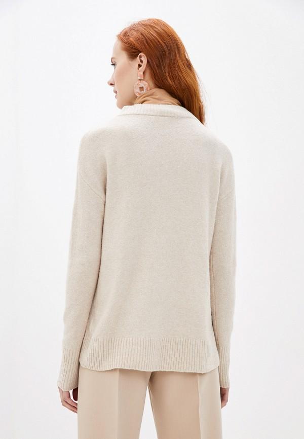 Фото 3 - женский пуловер Gap бежевого цвета
