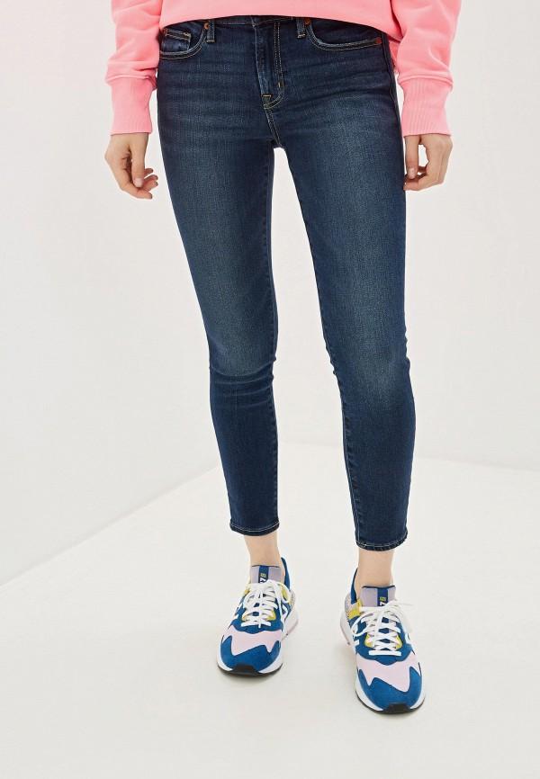 Фото - женские джинсы Gap синего цвета