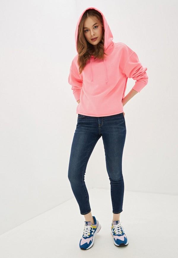 Фото 2 - женские джинсы Gap синего цвета
