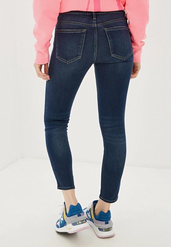 Фото 3 - женские джинсы Gap синего цвета