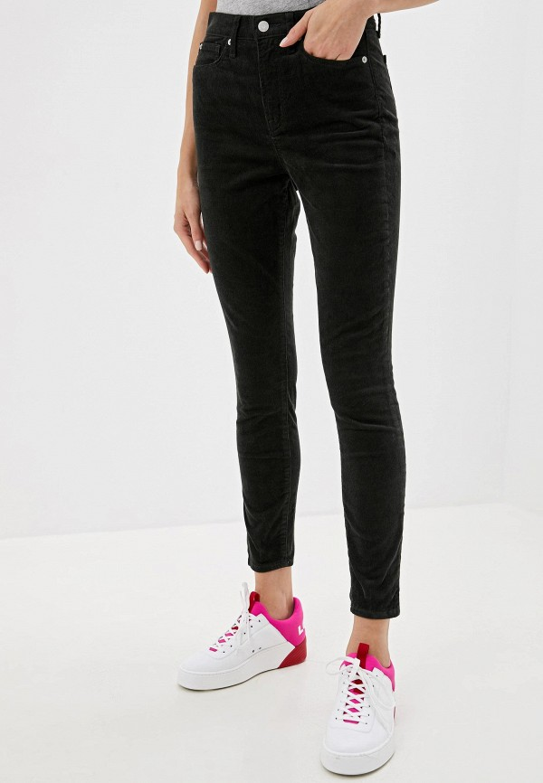 женские брюки gap, хаки