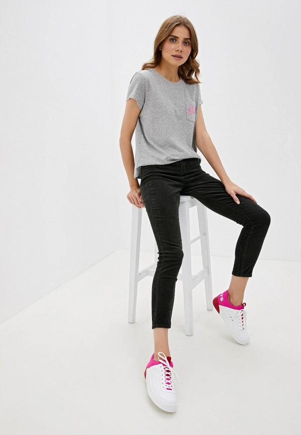 Фото 2 - женские брюки Gap черного цвета