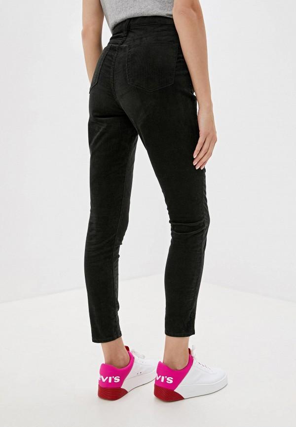 Фото 3 - женские брюки Gap черного цвета