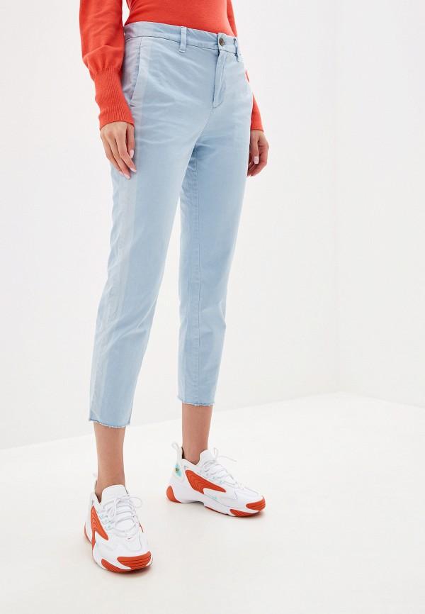 женские повседневные брюки gap, голубые