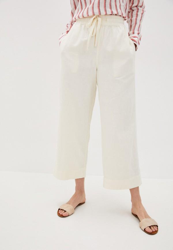 женские брюки gap, белые