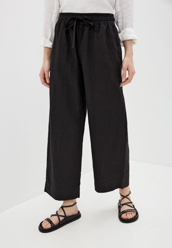 женские прямые брюки gap, черные