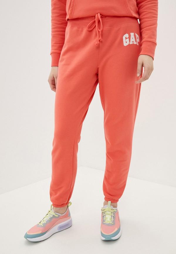 женские брюки gap, розовые
