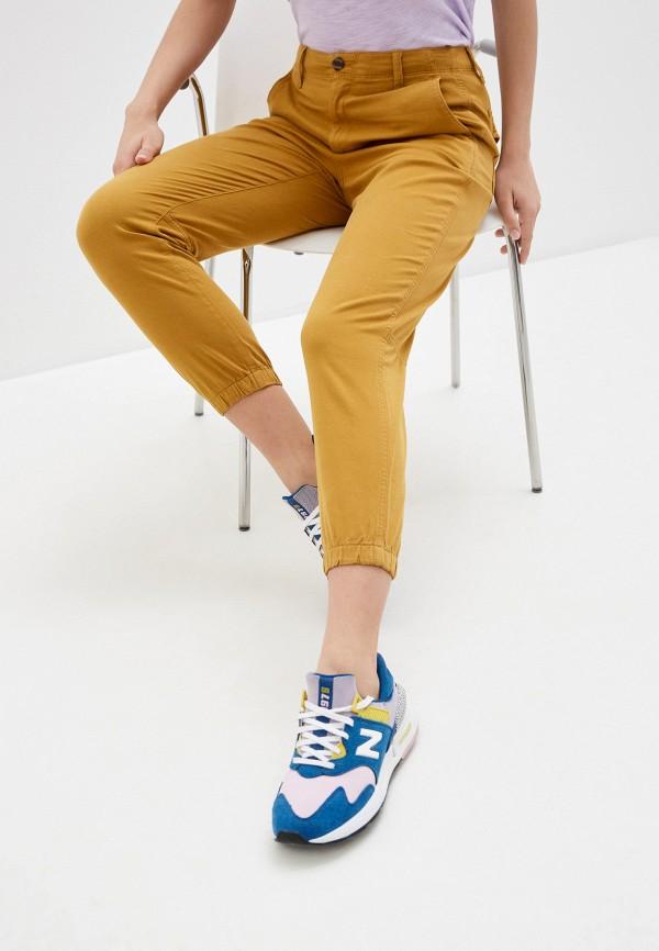 женские брюки gap, желтые
