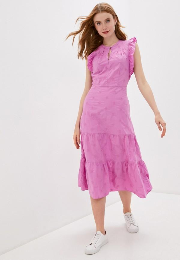 женское повседневные платье gap, фиолетовое