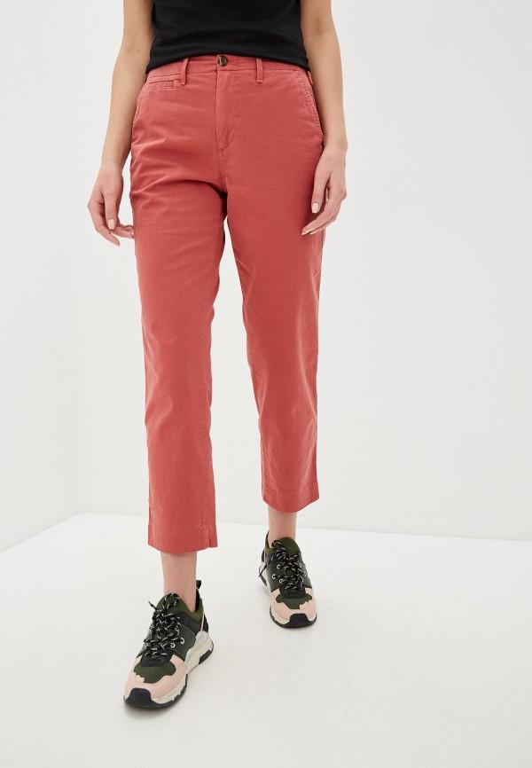женские повседневные брюки gap, красные