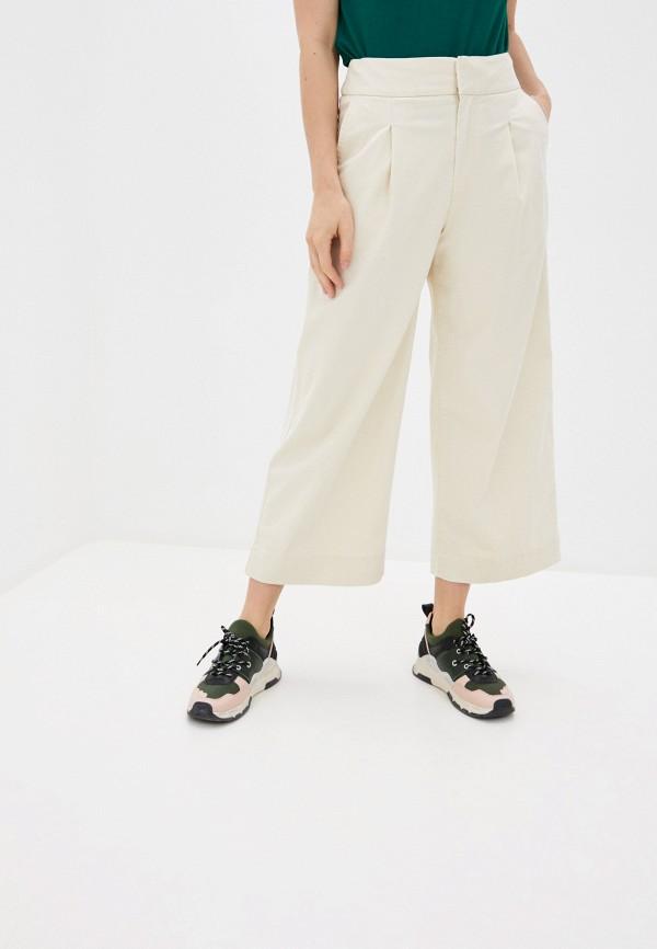 женские брюки кюлоты gap, белые