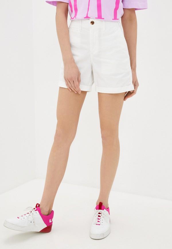 женские повседневные шорты gap, белые
