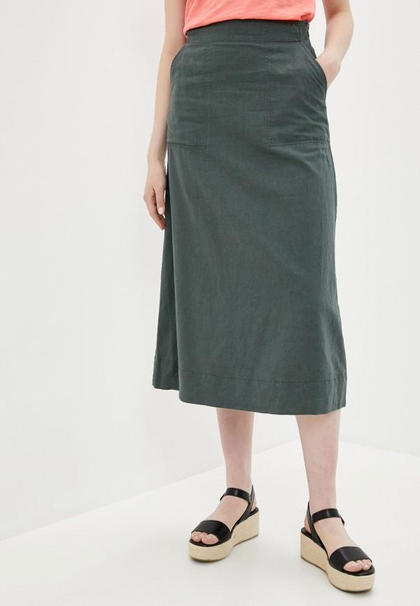женская юбка gap, хаки