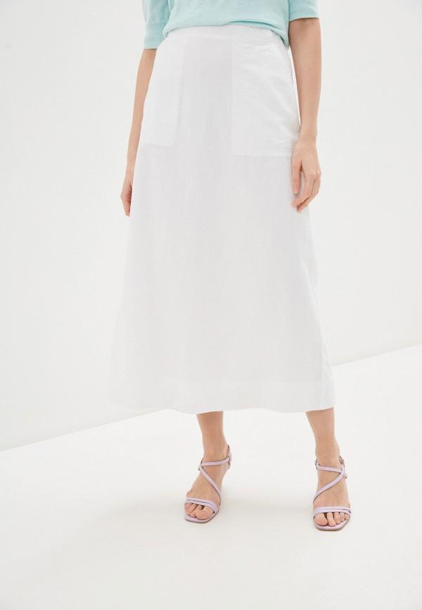 женская юбка gap, белая