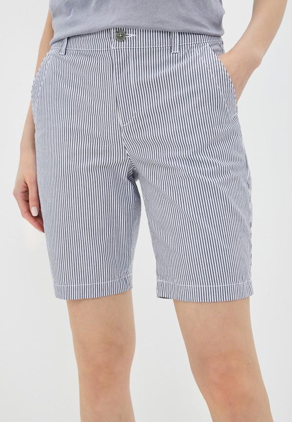 женские повседневные шорты gap, голубые