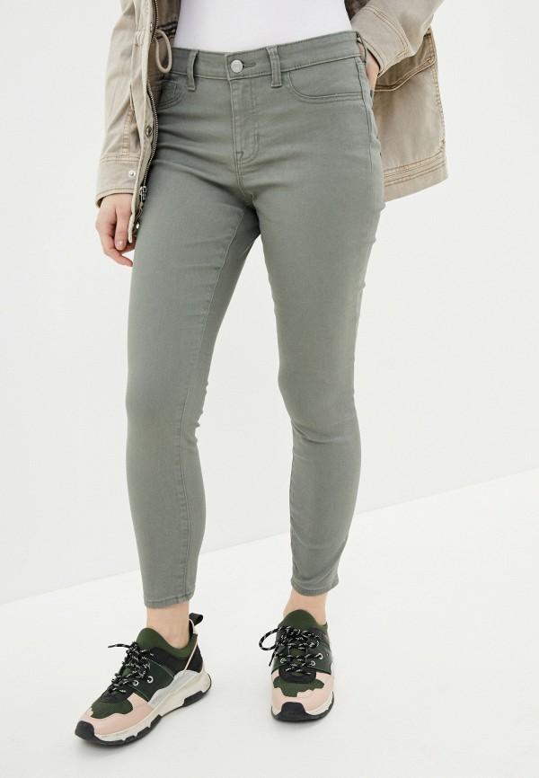 женские повседневные брюки gap, хаки
