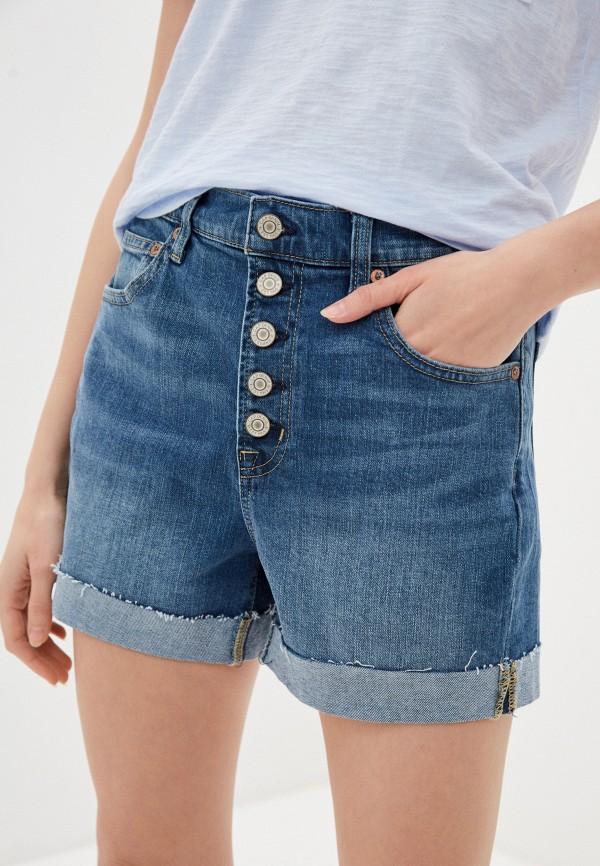 женские джинсовые шорты gap, белые