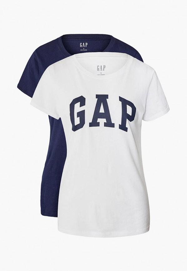 женская футболка gap, разноцветная