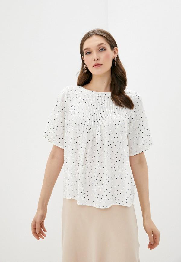 женская блузка gap, белая
