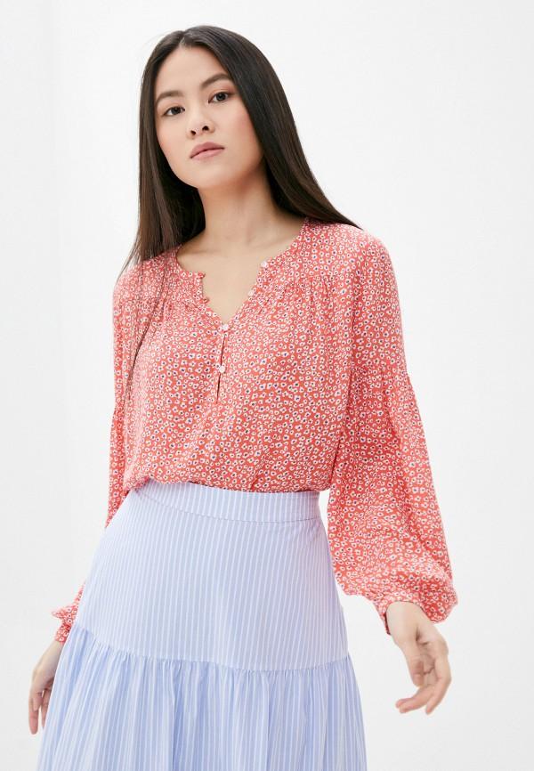женская блузка gap, красная