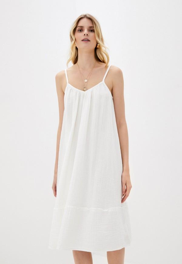 женское платье gap, белое