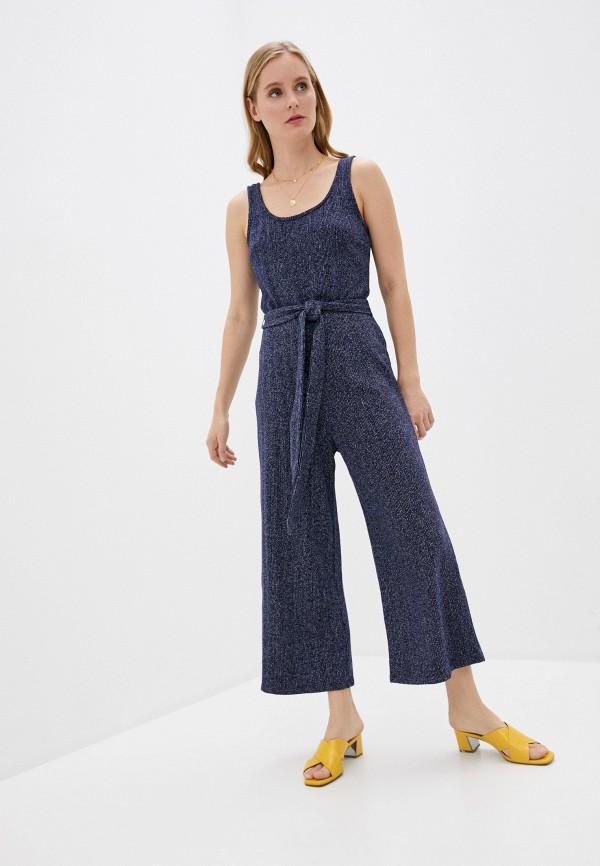 женский комбинезон с брюками gap, синий