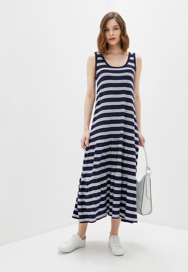 женское платье gap, синее