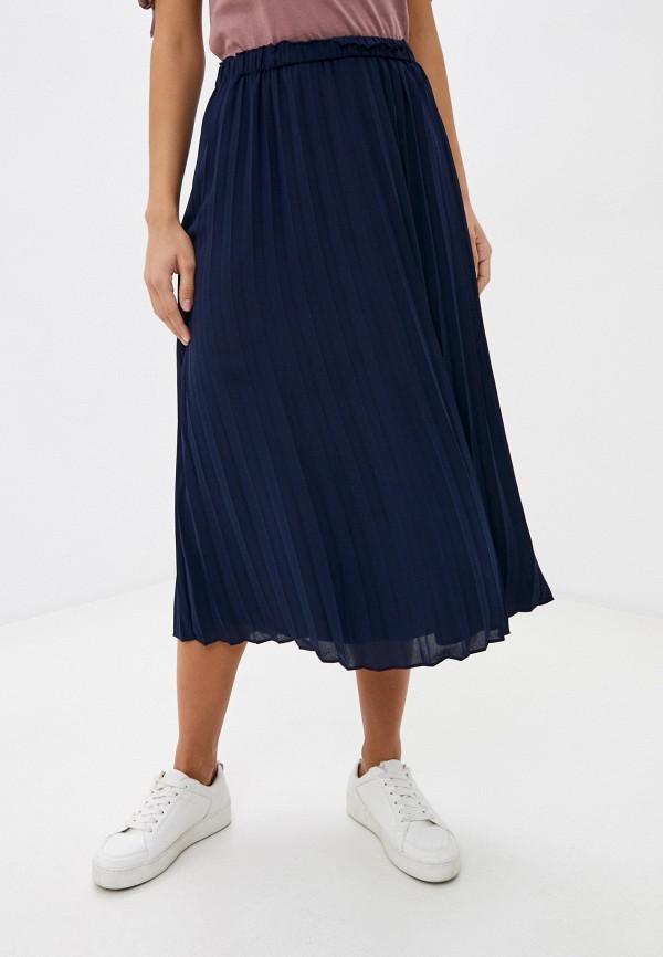 женская юбка gap, синяя