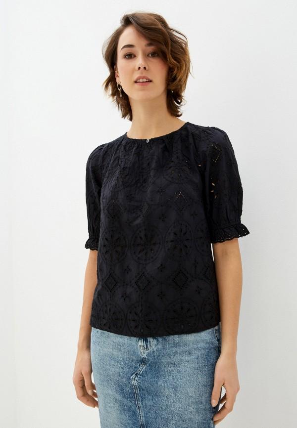 женская блузка gap, черная