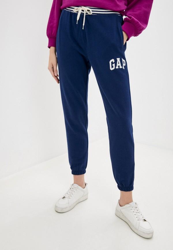 женские спортивные брюки gap, синие