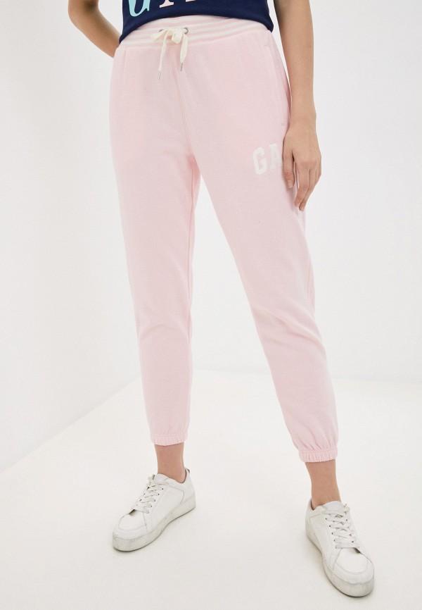 женские спортивные брюки gap, розовые