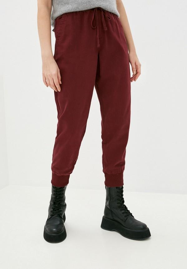 женские брюки gap, бордовые