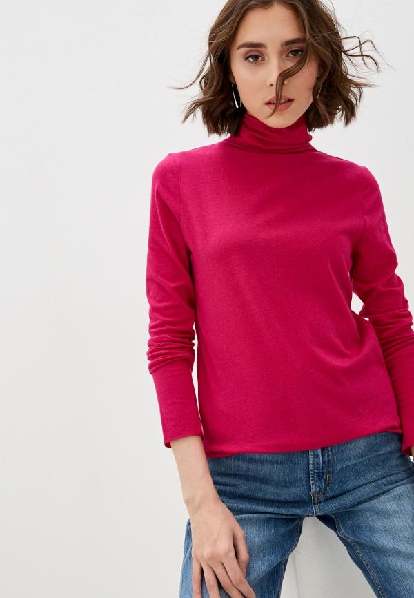 женская водолазка gap, розовая