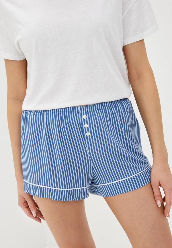 женские шорты gap, синие
